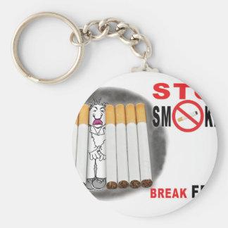 Stoppen Sie, Erinnerungen zu rauchen - nicht mehr Schlüsselanhänger