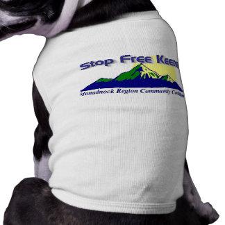 Stoppen Sie freies Keene Hündchen-Shirt! Shirt
