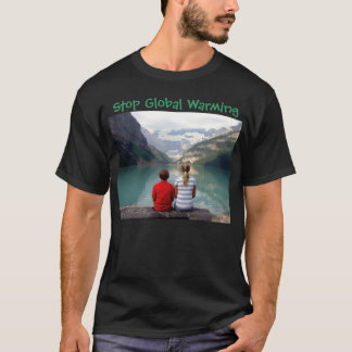 Stoppen Sie globale Erwärmung T-Shirt