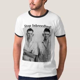 Stoppen Sie Inzucht! T-Shirt