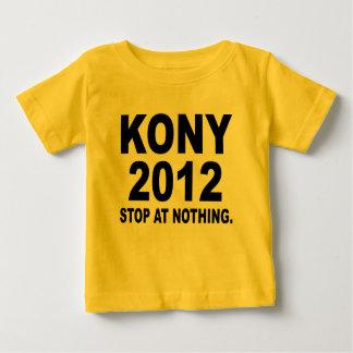 Stoppen Sie Joseph Kony 2012, Halt an nichts, T Shirt