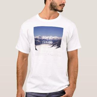 Stoppen Sie nie zu erforschen T-Shirt