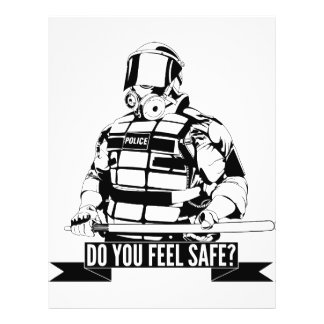Stoppen Sie Polizei-Brutalitäts-Kunst für besetzen 21,6 X 27,9 Cm Flyer