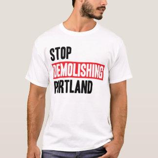 Stoppen Sie, Portland zu demolieren - helle Farben T-Shirt