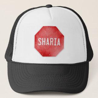 Stoppen Sie Sharia Truckerkappe