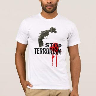 Stoppen Sie Terroristen T-Shirt