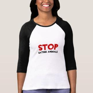 STOPPEN Sie, Tiere zu essen Tshirt