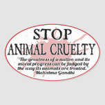 Stoppen Sie Tiergrausamkeits-Aufkleber