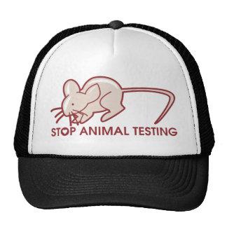 Stoppen Sie Tierversuche Netzmütze
