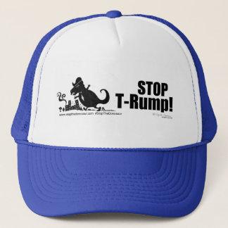 Stoppen Sie Trumpf-Baseballmütze Truckerkappe