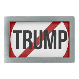 Stoppen Sie Trumpf Rechteckige Gürtelschnalle