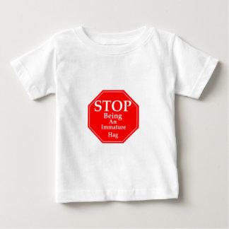 Stoppen Sie Unreife #3 Baby T-shirt
