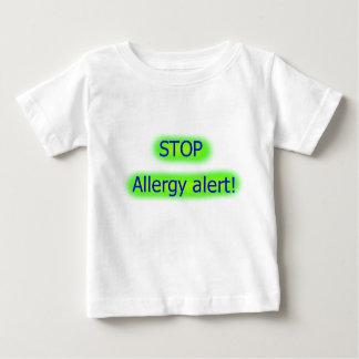Stoppen Sie wachsames Kinderst-shirt der Allergie Baby T-shirt