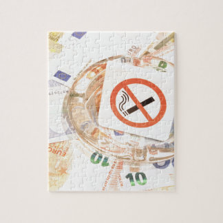 Stoppen Sie zu rauchen Puzzle
