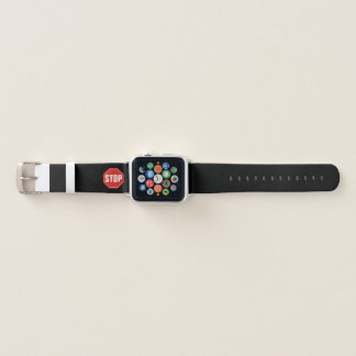 Stoppschild Apple Watch Armband