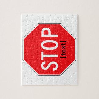 Stoppschild für eine Ursache