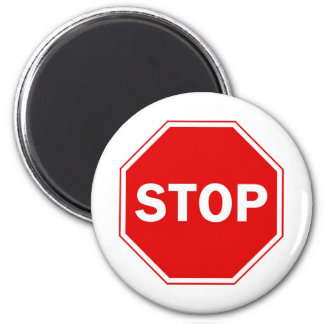 Stoppschild Magnete