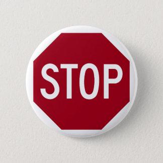 Stoppschild Runder Button 5,7 Cm