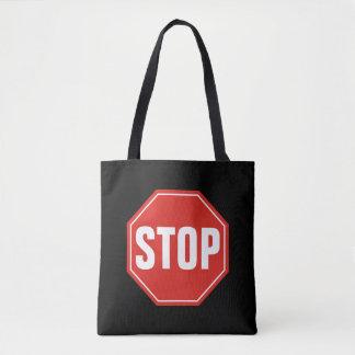 Stoppschild Tasche