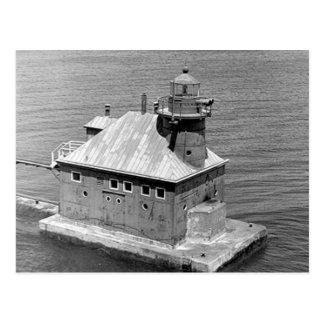 Stör-Bucht-Kanal NordPierhead Leuchtturm Postkarte