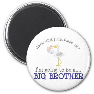Storch-großer Bruder Runder Magnet 5,7 Cm