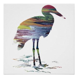 Storch-Kunst Poster