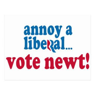 Stören Sie einen Liberalen Postkarte