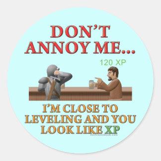 Stören Sie mich nicht Stickers