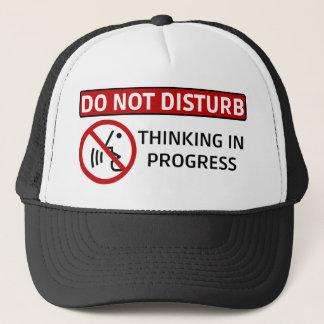 Stören Sie nicht | denkende laufende Kappe