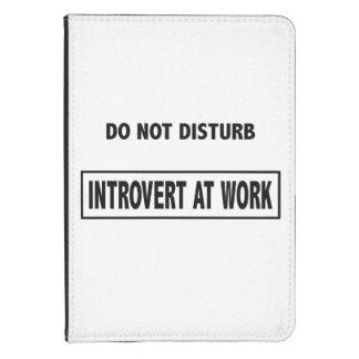 """""""Stören Sie nicht - Introvert bei der Arbeit"""" Kindle Touch Cover"""