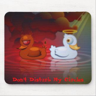 Stören Sie nicht meine Kreise Mousepads