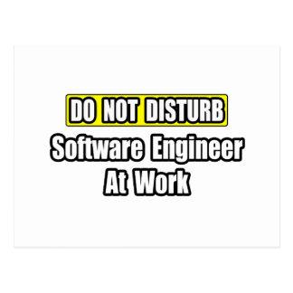 Stören Sie… Software Engineer nicht bei der Arbeit Postkarte