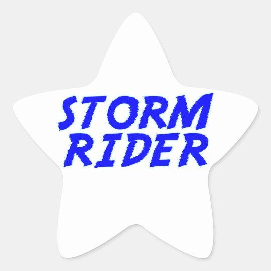 Storm Rider Stern-Aufkleber