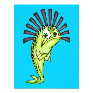 Störrische Fische 21,6 X 27,9 Cm Flyer