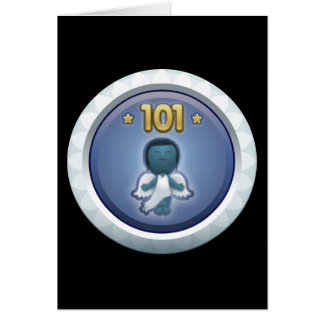 Störschub: Leistung stieg level101 auf Grußkarte