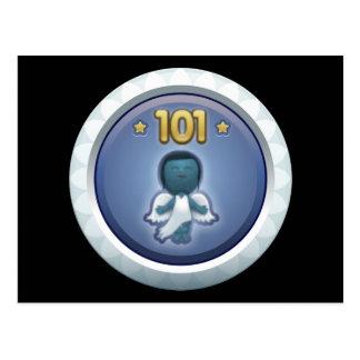 Störschub: Leistung stieg level101 auf Postkarte