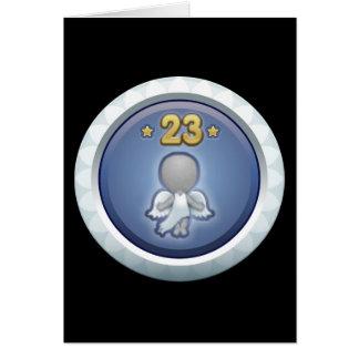 Störschub: Leistung stieg level23 auf Grußkarte