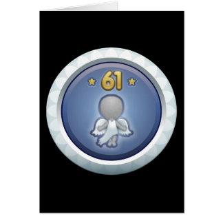 Störschub: Leistung stieg level61 auf Grußkarte