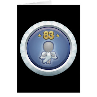 Störschub: Leistung stieg level83 auf Grußkarte