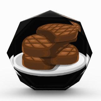 Störschub-Nahrungsmitteleinfache Grillen Acryl Auszeichnung