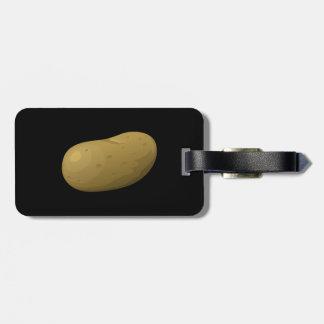 Störschub-Nahrungsmittelkartoffel Kofferanhänger