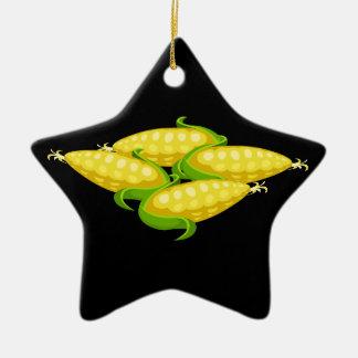 Störschub-Nahrungsmittelmais Keramik Ornament