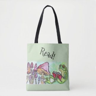 Storybook-Frosch-Lesung Tasche