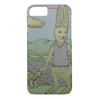 Storybook-Kaninchen iPhone 8/7 Hülle