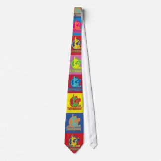 Stoß-Stoß-Unterhaltungs-Krawatte Krawatte