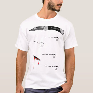 Stoß-Weste T-Shirt