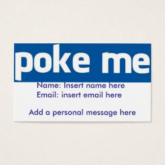 Stoßen Sie mich Facebook Karte