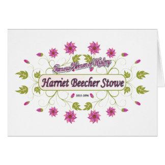 Stowe ~ Harriet Beecher Stowe/berühmte USA-Frauen Karte
