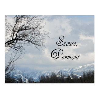 Stowe, Vermont Postkarte