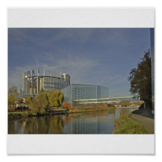 Straborg Europaparlament Poster